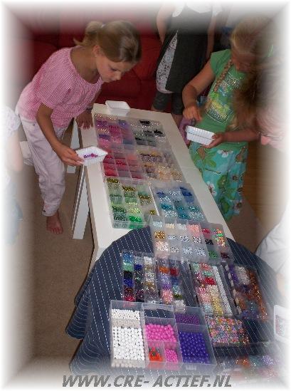 Kinderfeestje Sieraden Maken In Ijsselstein Bij Atelier Cre Actief